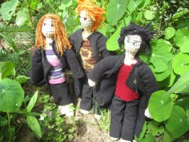 Harry Ron and Hermione by Twinsmanns