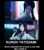 Kuroh Yatogami: Demotivational by miacachan