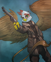 Raise Your Weapon by FoxInShadow