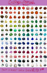 Costom Gems *20 points* by lisianthus-rose