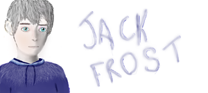 Jack Frost Drawing by ClaireBlack99