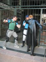 Chris and Jill vs WESKER by Chris--Redfield