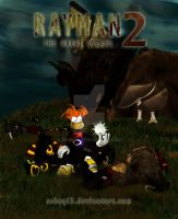 Rayman 2: The Great Escape -cover- by sEbeQ13