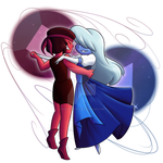 Ruby and Sapphire by Pockymaster13