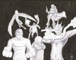 The Sinister Six 01 02 10 by JamesLynch