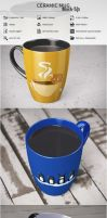 Ceramic Mug Mock-Up by BotnarencoStas