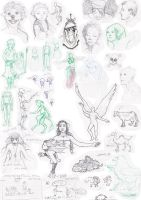 Random doodle collection 2008 by suthnmeh
