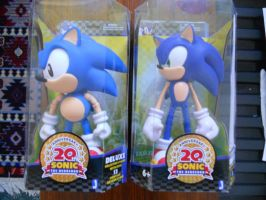 """Sonic Through Time 10"""" Figures by BoomSonic514"""