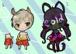 200 points adoptables by Toffee-Tama