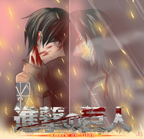 Attack On Titan (fan pic) by CattyMaddie