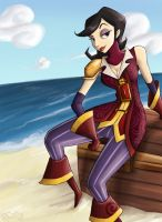 Morgan LeFlay: Pirate Hunter by pettyartist