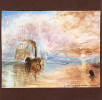 Study of The Fighting Temeraire by J.M.W. Turner by Haawan