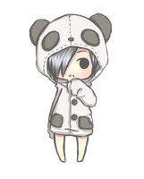 Panda Jill by Midnight-Cake