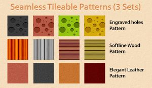 Seamless tileable patterns by rafiullah