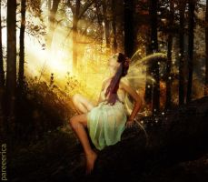 Woodland Faery by pareeerica