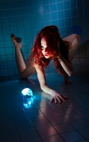 Peyton and the orb by goodeggproductions