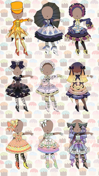 REDUCED! OPEN: WEATHER LOLTIA SALE (set price) by minnoux