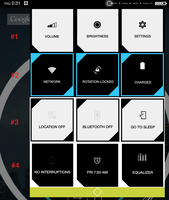 ctOS Theme for Android - Quick Settings // CONCEPT by Redsaph