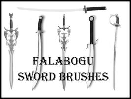 SWORD BRUSHES by Falabogu by falabogu