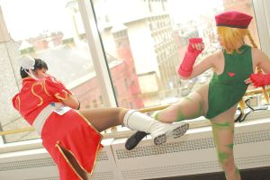 Anime Boston 2014 - Worlds' Strongest Women(PS) 21 by VideoGameStupid
