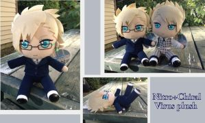 Nitro+Chiral Virus plush by Laurel-Lion
