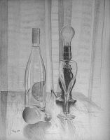 Changed Light, Pencil by hank1