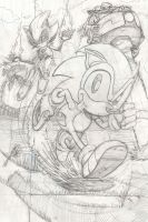 Sonic pencils by mistermuck
