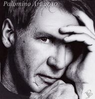 Portrait of Harrison Ford by Pal0min0Art