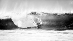 Volcom surf, Pipeline barrel by andreaswinter