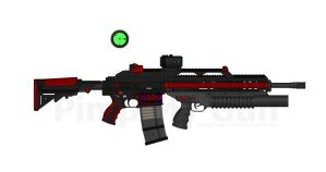 Draco's HK-G419E Assault Rifle by Lord-DracoDraconis