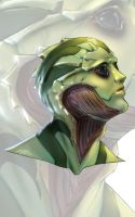Rendered Sketch Portrait - Thane by Bostonology