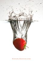 Strawberry Splash 4 by MichaelDunning