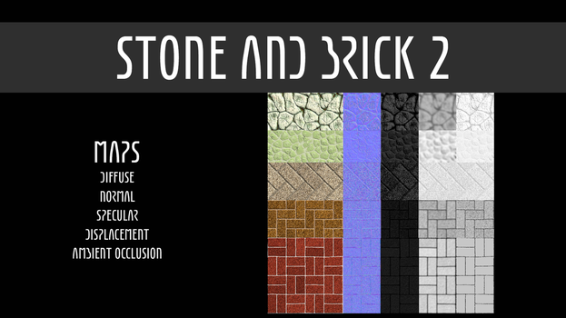 Stones And Bricks - Pack 2 by TexasFunk101