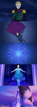 Male Elsa Let It Go - Disney Frozen Genderbend by jessthedragoon