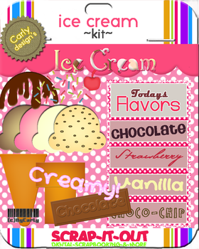 Ice Cream Kit by carly-ps