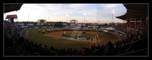 Opening Night At McCoy Stadium by jdzign45