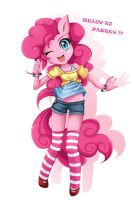 Pinkie Pie by JinZhan