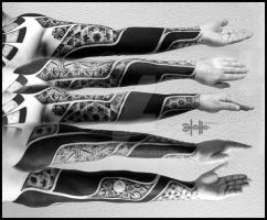 ornamental sleeves l by 13tatu