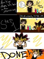 YGO How Yugi does his Hair by Renegades0fFunk