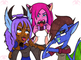 MH: Buncha Dorks by KPenDragon
