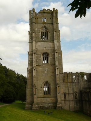 Abbey Ruin Stock Image 1 by supersnappz16