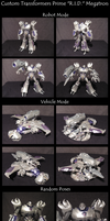 Custom Transformers Prime Voyager Megatron by AleximusPrime