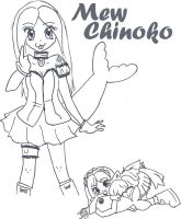 Mew Chinoko by GattaraPazza
