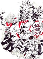 The List #3: Drax the Destroyer (Feat. the GOTG) by 13wishes