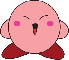 Over Excited Kirby by Kiru12
