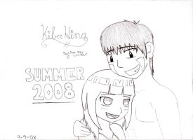 KibaHina_Summer Time by chachi411