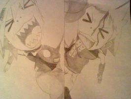 Soul and Black*star having a moment? by chris-gin