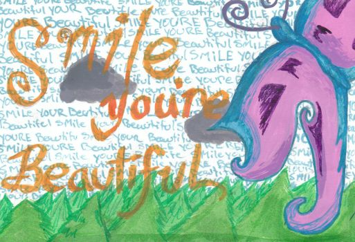 Smile You're Beautiful by XalkaiVendetta