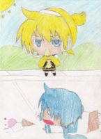 Len and Kaito Day by ChihuahuaLover22