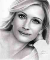 Portrait of Julia Roberts by Sikoian